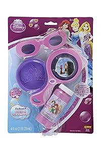 VILLA GIOCATTOLI 25404 Burbujas de jabón 3D con anteojos de Princesa,, Talla única