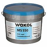 WAKOL MS 550 PVC- und Gummiklebstoff - Indoor & Outdoor geeignet - 12 kg (1kg /11,04EUR)