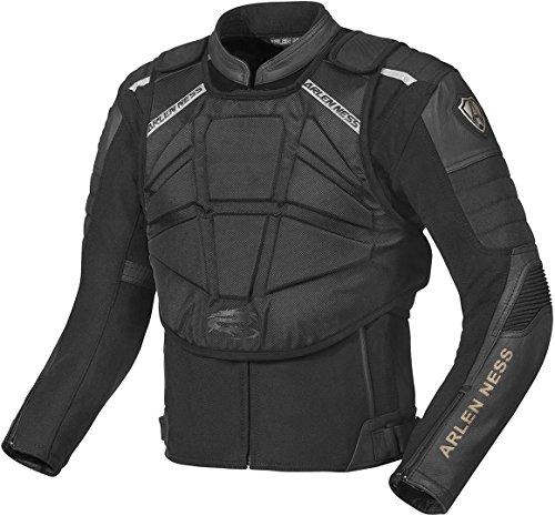 Arlen Ness Tough Rider Motorrad Leder/Textil Jacke 48