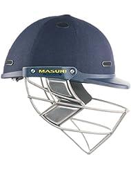 VS Test Titanium Adult Cricket Helmet, Blue, M by Masuri