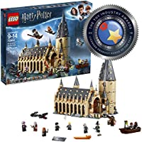 LEGO 75954 Harry Potter Hogwarts Great Hall Toy, Wizzarding World Fan Gift, Building Sets for Kids
