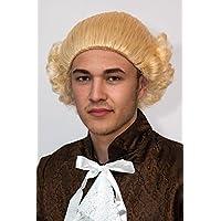 Los hombres de estilo rococó de la peluca RUBIA para hombre