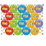 Musical Note Praise Stickers