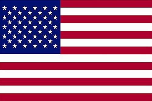UB Aufkleber USA 9 cm x 6 cm Flagge/Fahne (Autoaufkleber) - 6x9 Usa-flagge