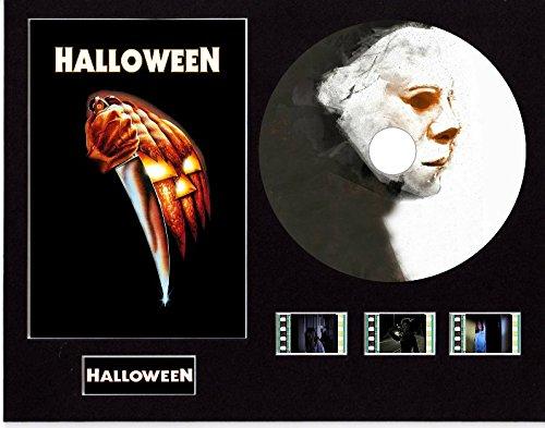 Generic Halloween (1978) Film Cell Style Display 10x 8montiert mit CD & 3Zellen, Ungerahmt 1, 25 x 20 cm