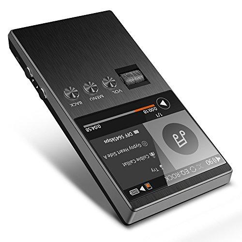 Equalizer Dac (Hochauflösender MP3-Player mit SD-Kartensteckplatz, Bassplay P5000 Tragbarer Audio-Musik-Player Unterstützt bis zu 128 GB Micro SD Erweiterbarer Speicher (Ohne SD-Karte))
