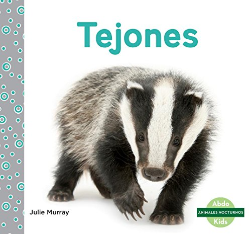Tejones (Badgers) (Animales nocturnos/ Nocturnal Animals)
