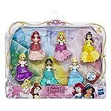 Disney Princesses - Pack de 6 mini-poupees Princesses Disney Royal Clips - 8 cm