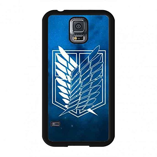 Attack On Titan Mobile H¨¹lle Schutzh¨¹lle,Hot Anime Attack On Titan Phone Cover For Samsung Galaxy S5 (Louis Vuitton Case Für Galaxy S5)