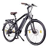 NCM Venice Bicicletta elettrica da Trekking, 250W, Batteria 48V 13Ah 624Wh, Nero