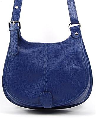 OH MY BAG SOLDES Sac bandoulière Cuir bandoulière porté de travers femmes en véritable cuir fabriqué en Italie - modèle PETRA SOLDES