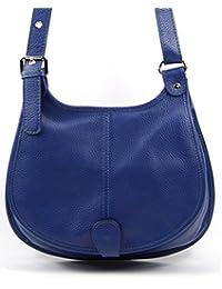 OH MY BAG Sac à Main femme en CUIR italien porté bandoulière Modèle PETRA (gd modèle) Nouvelle collection