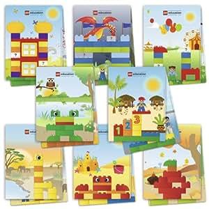 Lego Duplo-lot De 8 Fiches D'activités Pour La Boite De Construction Créative De 124 Pièces
