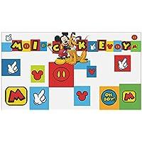 Stor - Cabecero de Cama para niños | Mickey Icons | Disney - Dimensiones: 90 x 50 cm. - Varias licencias
