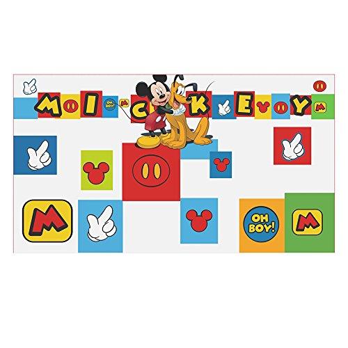 Stor Tête de lit pour enfants | Mickey Mouse - Icons | DISNEY - Dimensions: 90 x 50 cm. - plusieurs licences