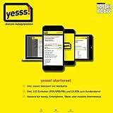 YESSS Mobile Sim Prepaid Simkarte mit 100 Einheiten (MIN/SMS/MB) LTE für Österreich (Einlegen & Loslegen)