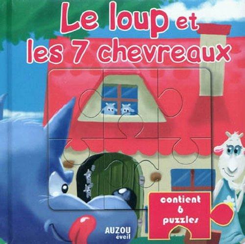 LE LOUP ET LES 7 CHEVREAUX (Livres puzzle) par Frédéric Coince