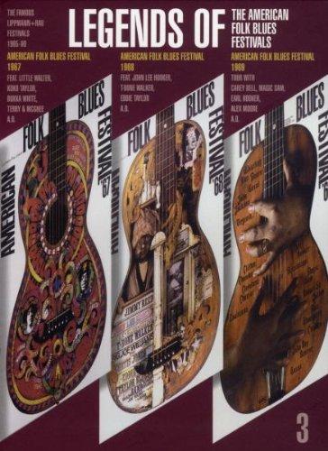 The Famous Lippmann + Rau Festivals Vol.3 - LEGENDS OF the American Folk Blues - Musik-dvd American Folk