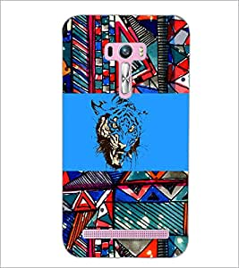 PrintDhaba Abstract Image D-5017 Back Case Cover for ASUS ZENFONE SELFIE ZD551KL (Multi-Coloured)