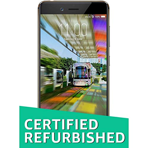 (Certified REFURBISHED) Nubia Z17 Mini (Black Gold, 64GB)