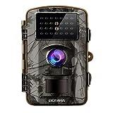 Gosira 12MP HD 1080P Wildkamera mit bewegungsmelder mit Nachtsicht, Camo