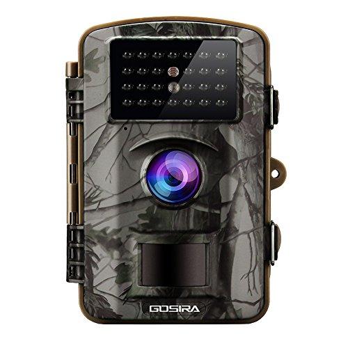Produktbild Gosira 12MP HD 1080P Wildkamera mit bewegungsmelder mit Nachtsicht, Camo