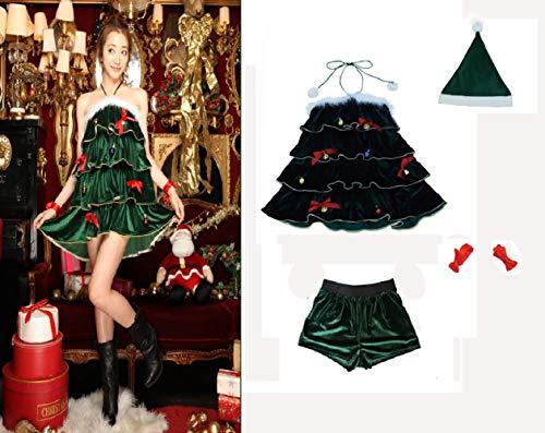 Weihnachtsbaum Passen - Passen Damen Weihnachten Baum Kostüme Weihnachtsbaum