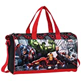 Avengers Tote Borsa da Viaggio, 42 cm, 21.17 Litri, Captain America Thor Hulk Iron Man