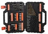 Black+Decker A7200-XJ - Kit para taladrar y atornillar 109 piezas....