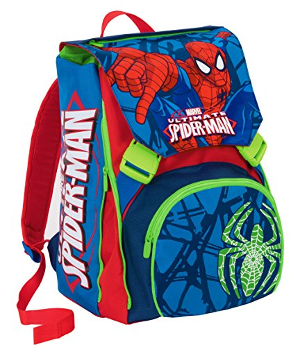 Zaino scuola ESTENSIBILE - MARVEL ULTIMATE SPIDERMAN - Blu 31Lt