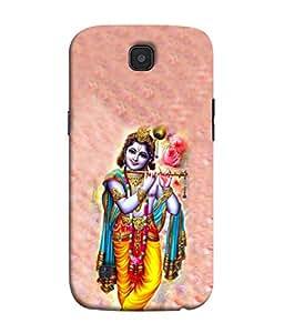 PrintVisa Designer Back Case Cover for LG K3 :: LG K3 Dual K100 LS450 (God of Love Krishna beautiful unbelivable)