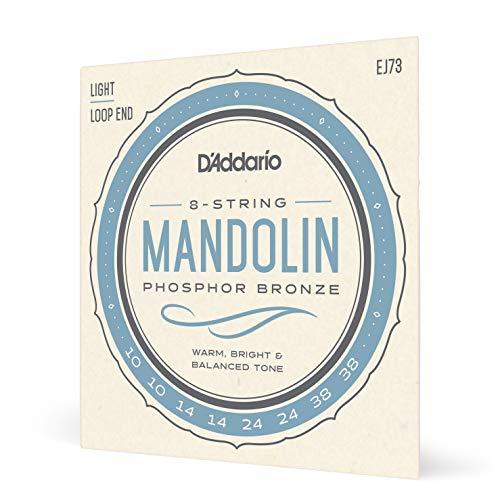 D\'Addario EJ73 Mandola Mandocello Mandobass Mandoline Saitensatz phosphorbronze light