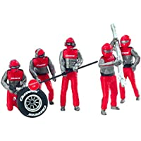 Carrera Set de figuras, color crew rot (20021131)