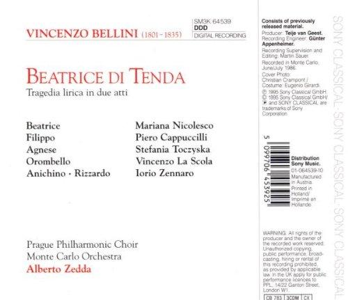 Beatrice Di Tenda [Import USA]