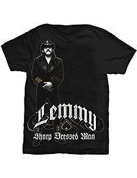Lemmy Kilmister Standing Motorhead Rock officiel T-shirt Hommes unisexe (Medium)