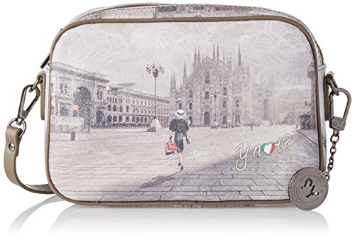 YNOT i-310, Borsa a Tracolla Donna, 23.5x16.5x6 cm (W x H x L) Multicolore (Fashion Shopping)