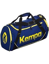 Kempa–Bolso de balonmano Medium M 55x 30x 29cm + Botella, azul oscuro