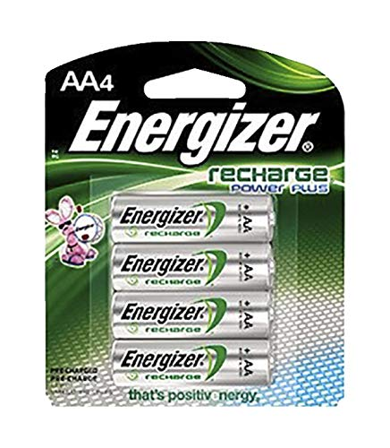 Energizer Rechargeable AA, 4 Pack Batterie 4er-pack Energizer