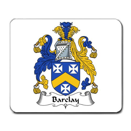 barclay-family-crest-coat-of-arms-mouse-pad