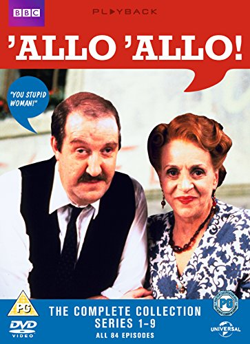 Allo 'Allo - The Complete Collection [DVD] [1982]