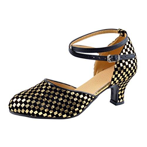 donna scarpe da ballo latino per gli adulti/Comunicazione Fellowship square dance shoes E