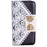 Best EVERMARKET iPhone 5 Cases - EVERMARKET Black Bow Lace Fashion Girl Woman Fresh Review