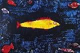 1art1 60503 Paul Klee - Der Goldene Fisch, 1925 Poster Kunstdruck 120 x 80 cm