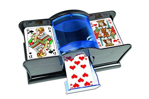 NSV - 7201 - KARTENMISCHMASCHINE für Karten bis Größe 59 x 91 mm, manuell - Kartenspiel