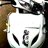 #10: StickersYard Decorative Mahadev Shiva Decal Vinyl Windows, Sides, Hood, Bumper Car & Bike Sticker (Multi-color) (Black)