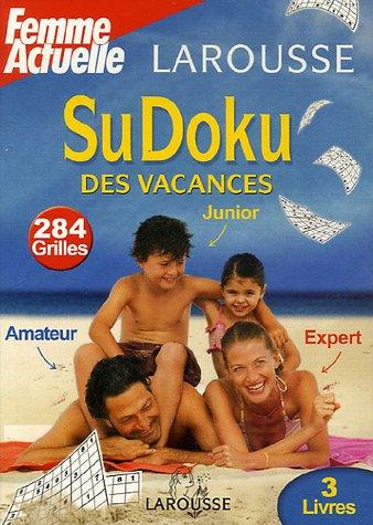 SuDoku des vacances Coffret en 3 volumes : Junior ; Amateur ; Expert