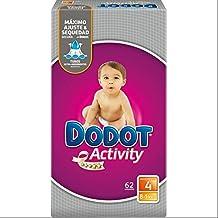 Pañales Dodot Activity T4, 62 unidades, 8-14K