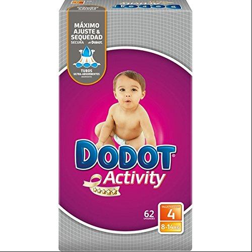 Pañales Dodot Activity T4 62 uds