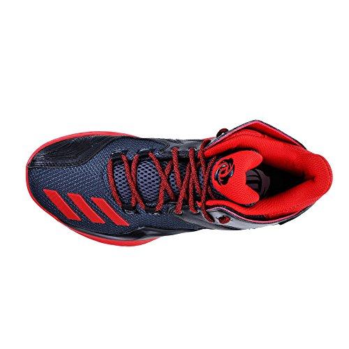 adidas D Rose 773 V, Espadrilles de Basket-Ball Homme Noir - Negro (Negbas / Escarl / Griosc)