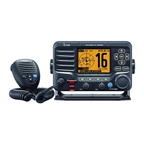 Icom M506 Vhf Schwarz N2 K Vorne Mikrofon -